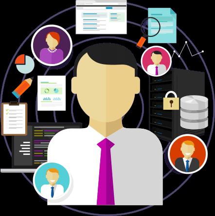 Virtual CIO managing your technology icon
